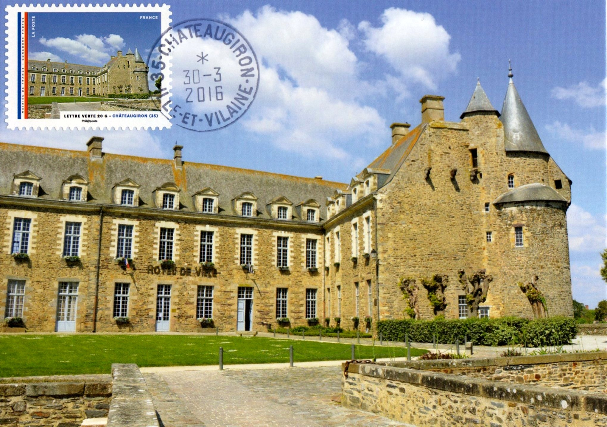 Châteaugiron Ed. Studio CPC Obl. Ord. 30.03.2016 Châteaugiron (...)