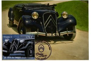 Traction 11B Cabriolet 1938 - Ed. Artaud - OSI Les voitures de style - (...)