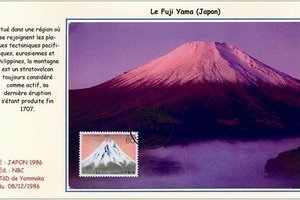 Page de la collection « La montagne » : Le Fuji Yama (Japon)
